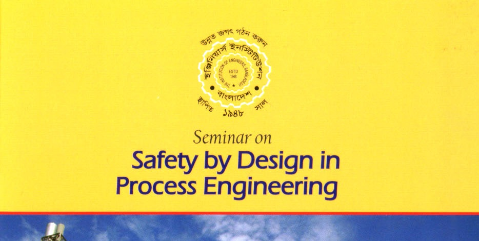 Seminar on: Safety by Design in Process Engineering.